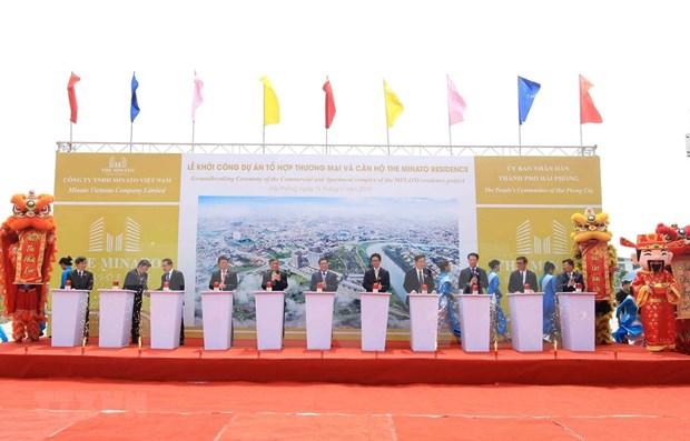 Ejecutan en ciudad vietnamita de Hai Phong amplio programa constructivo hinh anh 1