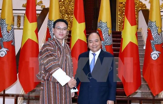 Aspira Vietnam a vigorizar cooperacion con Butan hinh anh 1