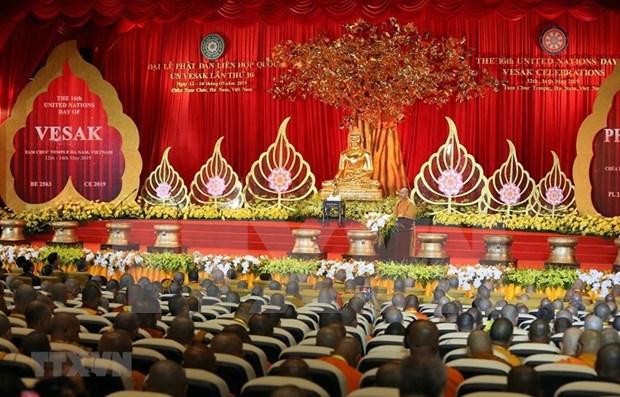 Clausuran en Vietnam Dia de Vesak de las Naciones Unidas hinh anh 1
