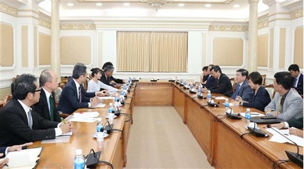 Impulsan conexion entre Ciudad Ho Chi Minh e inversores japoneses hinh anh 1