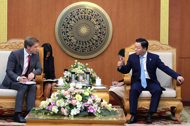 Propone Foro Economico Mundial programa de cooperacion ambiental para Vietnam hinh anh 1