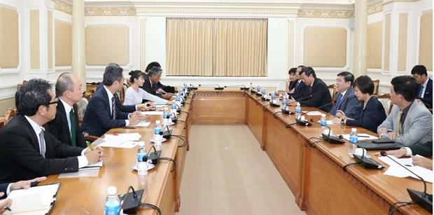 Proponen establecer en Ciudad Ho Chi Minh agencia de asistencia a inversores japoneses hinh anh 1
