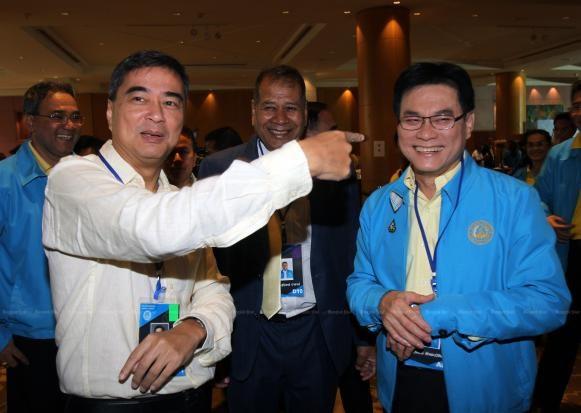 Eligen a nuevo lider del Partido Democrata de Tailandia hinh anh 1