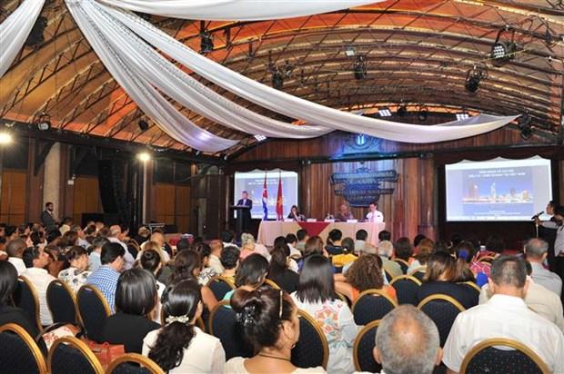 Empresarios cubanos y vietnamitas exploran oportunidades de cooperacion hinh anh 1