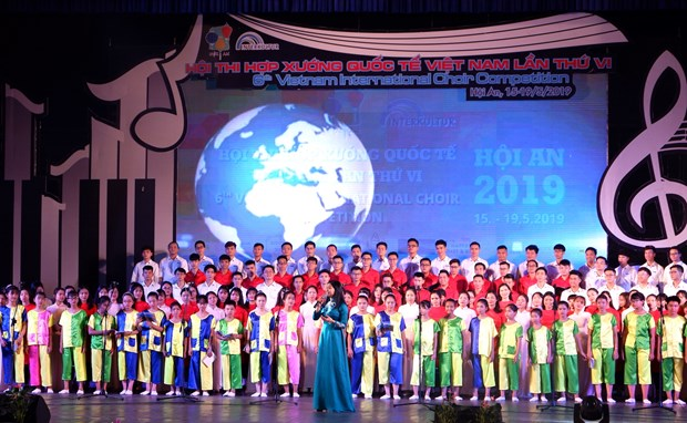 Inauguran en ciudad vietnamita de Hoi An Concurso Internacional de Coros hinh anh 1