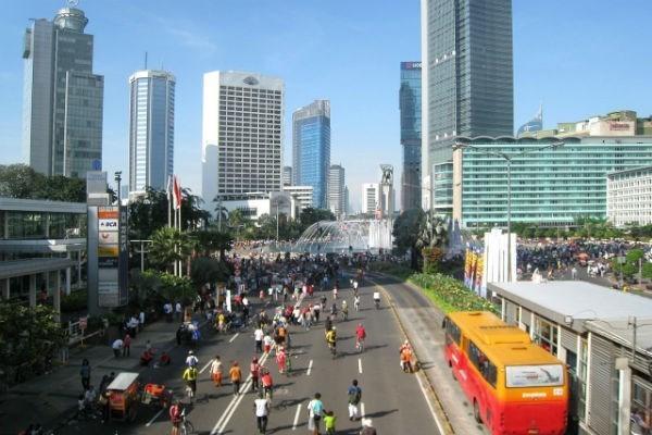 Registro Indonesia en abril el mayor deficit comercial mensual de su historia hinh anh 1