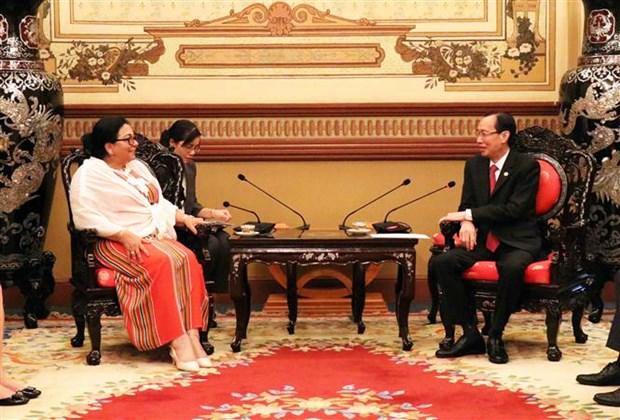 Amplian Ciudad Ho Chi Minh y Cuba cooperacion en el sector de la salud hinh anh 1