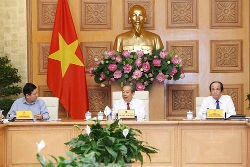 Insta vicepremier vietnamita a acelerar reformas administrativas hinh anh 1