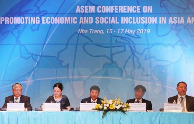Efectuan en Vietnam conferencia de la ASEM sobre desarrollo inclusivo hinh anh 1