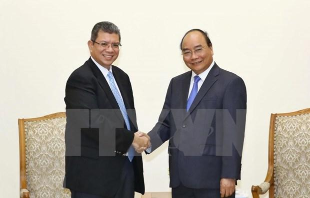 Reitera Premier de Vietnam importancia de cooperacion con Malasia hinh anh 1