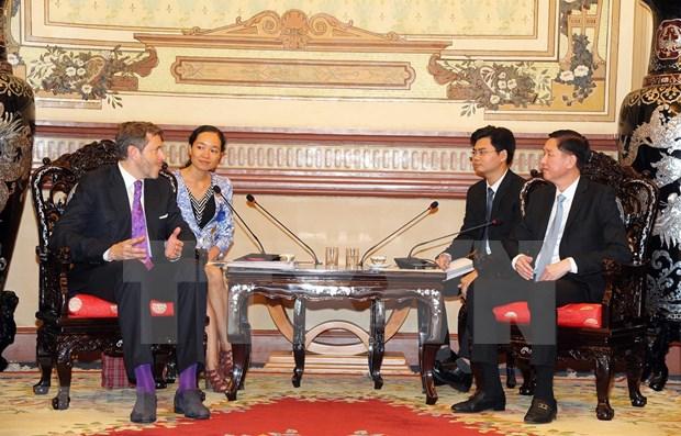 Incentiva Ciudad Ho Chi Minh mayor inversion de Austria en diversos sectores hinh anh 1