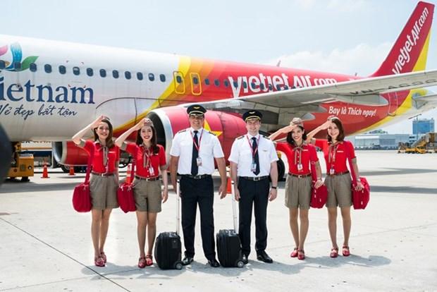 Ofrece aerolinea Vietjet promociones especiales para rutas Vietnam-Japon hinh anh 1