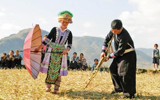 Preservan y promueven en Vietnam valores culturales de la etnia H´mong hinh anh 1