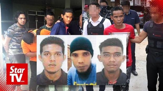 Arresta policia de Malasia a tres sospechosos de atentados terroristas hinh anh 1