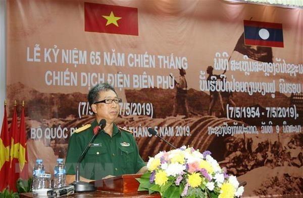 Destacan en Laos significado de la historica batalla de Dien Bien Phu hinh anh 1