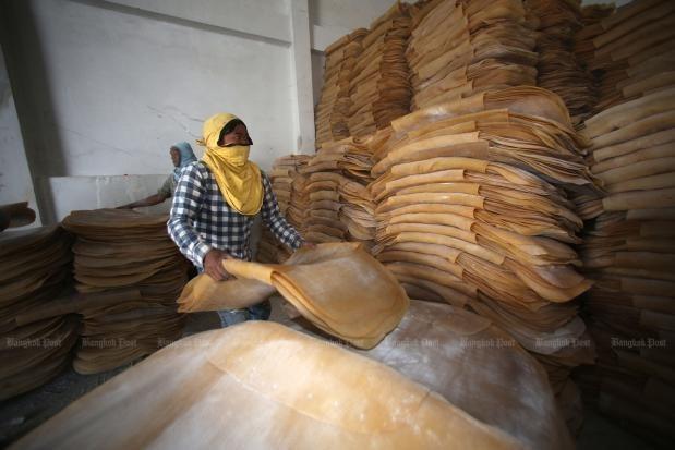 Reducira Tailandia sus exportaciones de caucho hinh anh 1