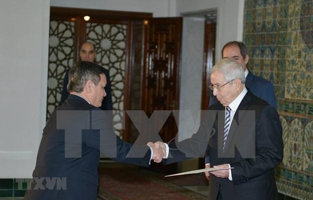 Favorece presidente de Argelia ampliacion de las relaciones entre su pais y Vietnam hinh anh 1