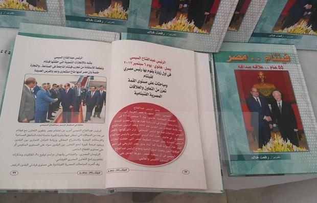Publican libro sobre los lazos de amistad entre Vietnam y Egipto hinh anh 1