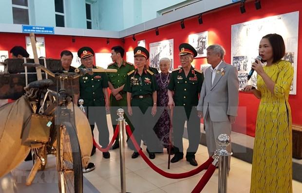 Resalta exposicion en Vietnam los aportes de los combatientes de la Ruta Truong Son hinh anh 1