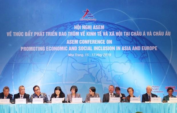 Miembros de la ASEM acuerdan impulsar desarrollo economico y social inclusivo hinh anh 1