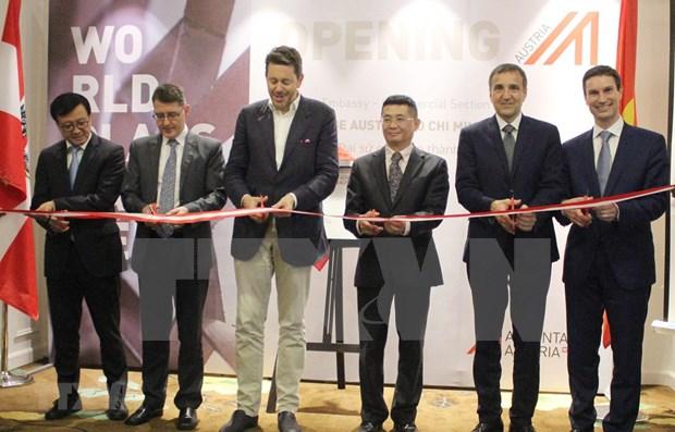 Embajada de Austria abre oficina comercial en Ciudad Ho Chi Minh hinh anh 1