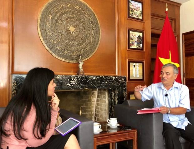 Relaciones Vietnam-Mexico se desarrollan fuertemente en todos campos hinh anh 1