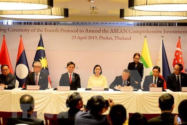 Destacan avance en la cooperacion entre ASEAN y sus socios hinh anh 1