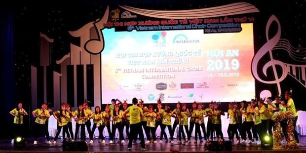 Gana equipo indonesio Concurso Internacional de Coros Vietnam 2019 hinh anh 1