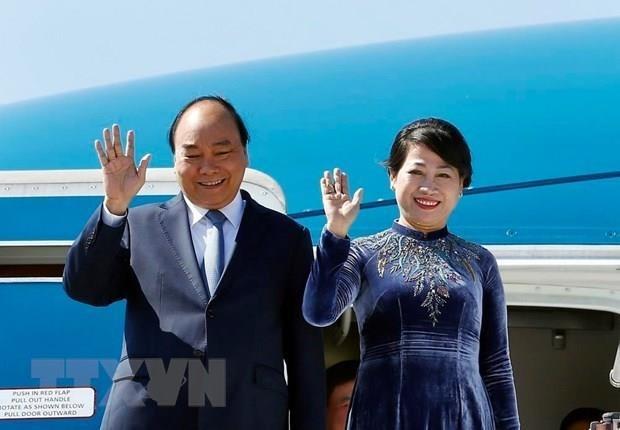 Realiza Premier vietnamita gira por Rusia, Noruega y Suecia hinh anh 1