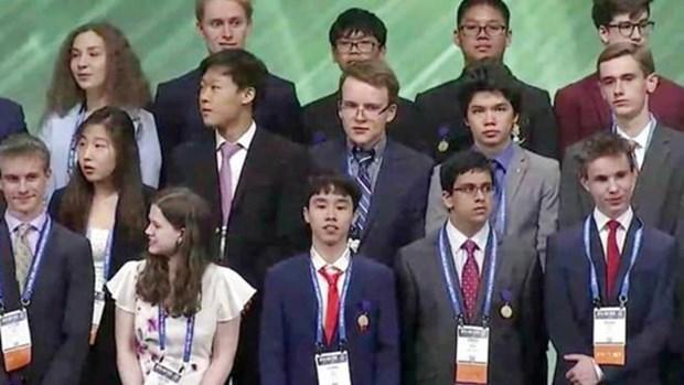 Gana Vietnam premio en Feria Internacional de Ciencias e Ingenieria Intel 2019 hinh anh 1