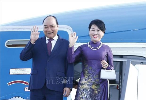 Primer ministro de Vietnam inicia visita a Rusia hinh anh 1