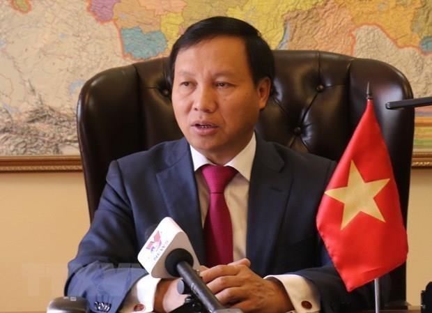 Resalta embajador vietnamita asociacion estrategica integral con Rusia hinh anh 1