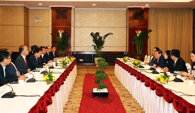 Promueve Ciudad Ho Chi Minh cooperacion turistica con localidades sudcoreanas hinh anh 1