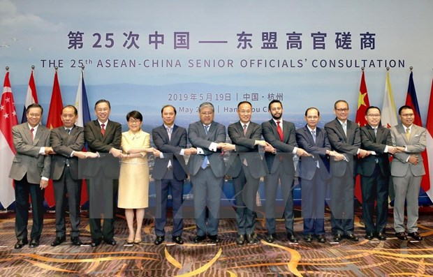 Proyectan la ASEAN y China elevar el intercambio comercial para 2020 hinh anh 1