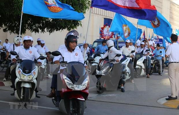 Habilitaran en Camboya 50 mil urnas para las proximas elecciones hinh anh 1