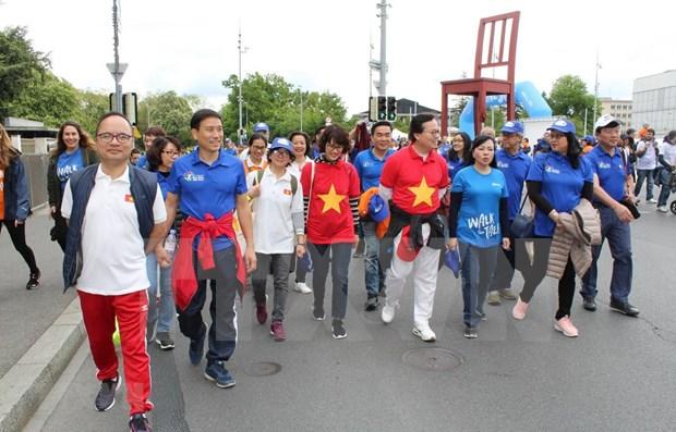 Participa Vietnam en evento de salud comunitaria de la OMS en Ginebra hinh anh 1