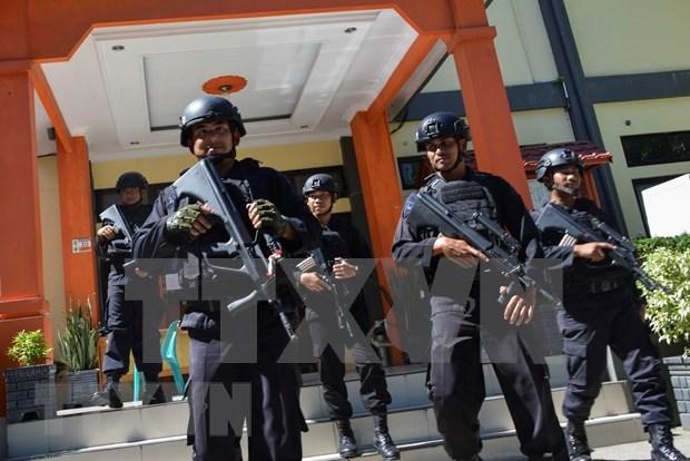 Refuerzan en Indonesia la seguridad en visperas del anuncio de resultados electorales hinh anh 1