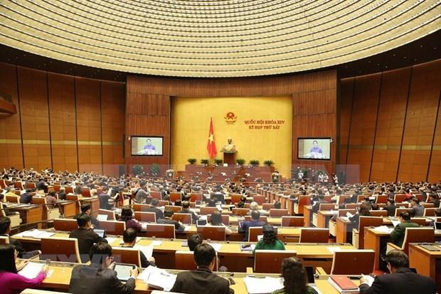 Inauguran septimo periodo de sesiones de la Asamblea Nacional de Vietnam hinh anh 1