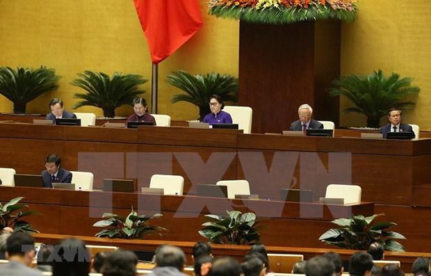 Evalua Parlamento de Vietnam la situacion socioeconomica nacional hinh anh 1