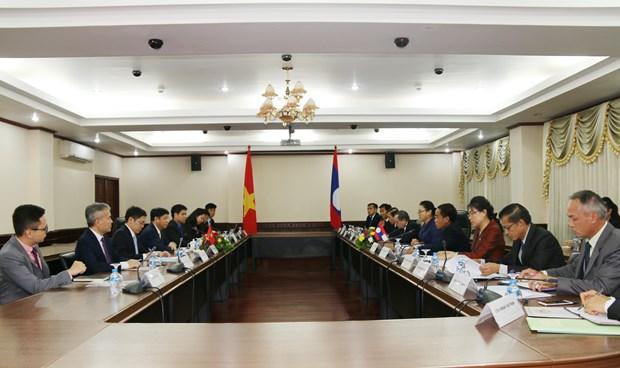Impulsan especiales nexos de amistad entre Vietnam y Laos hinh anh 1