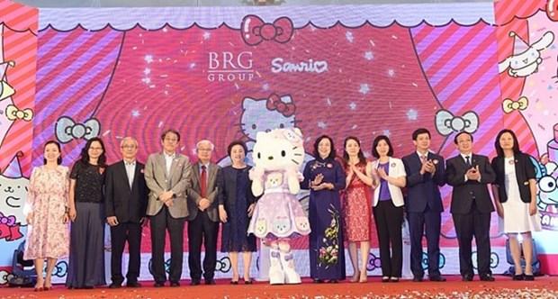 Construiran parque tematico de Hello Kitty en Hanoi hinh anh 1