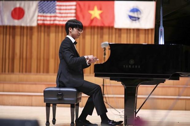 Ofrecen nuevas oportunidades a jovenes pianistas vietnamitas en concurso internacional hinh anh 1