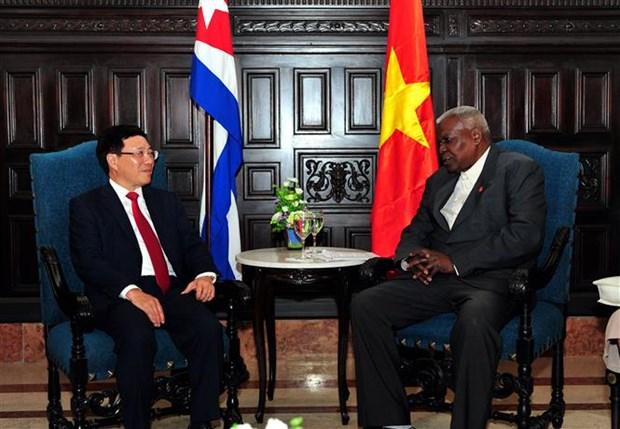 Fortalecen Vietnam y Cuba las relaciones bilaterales hinh anh 3