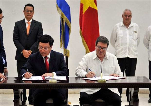 Fortalecen Vietnam y Cuba las relaciones bilaterales hinh anh 1