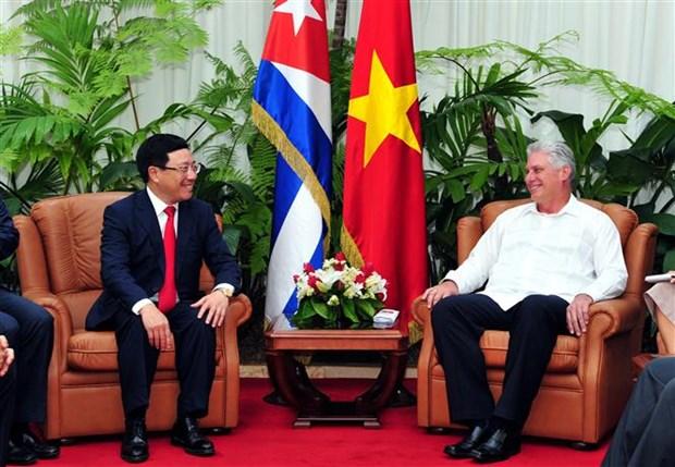 Fortalecen Vietnam y Cuba las relaciones bilaterales hinh anh 2