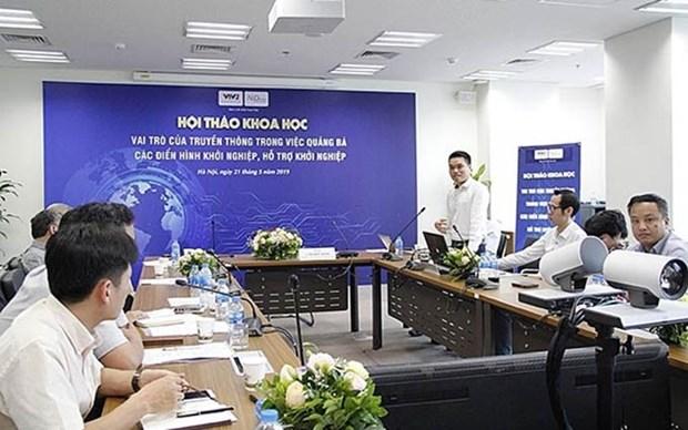 Resaltan en Vietnam papel de la comunicacion para promover modelos de emprendimiento hinh anh 1