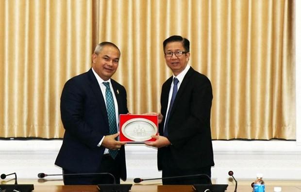 Impulsan cooperacion entre ciudades vietnamita y australiana hinh anh 1