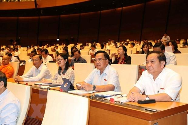 Parlamento de Vietnam discute Ley de ejecucion de sentencias en casos penales (enmendada) hinh anh 1