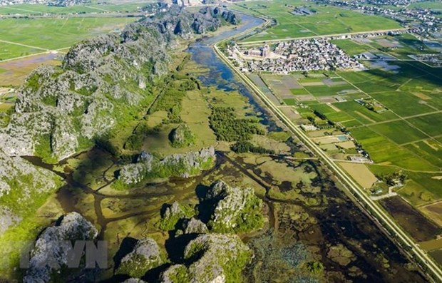 Reconocen reserva Van Long como noveno Sitio Ramsar de Vietnam hinh anh 1