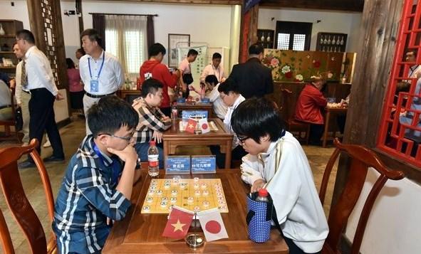 Gana Vietnam Torneo Internacional de Ajedrez chino hinh anh 1
